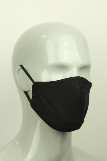 Moss Black Stretch Mask