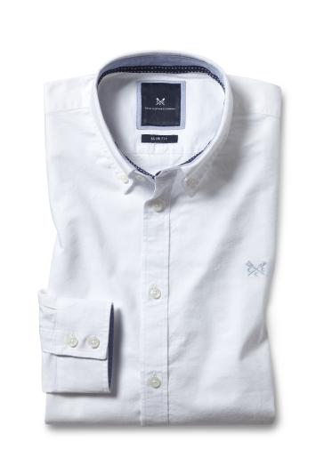 Crew Clothing White Oxford Shirt
