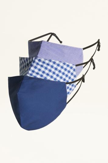 Moss Blue Mask 3-Pack