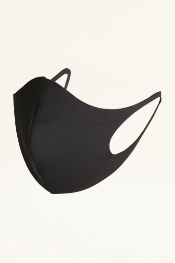 Moss Black Scuba Mask