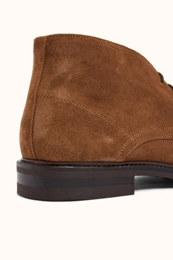 John White Westfield Fawn Suede Chukka Boot