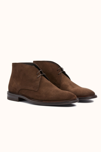 John White Westfield Brown Suede Chukka Boot
