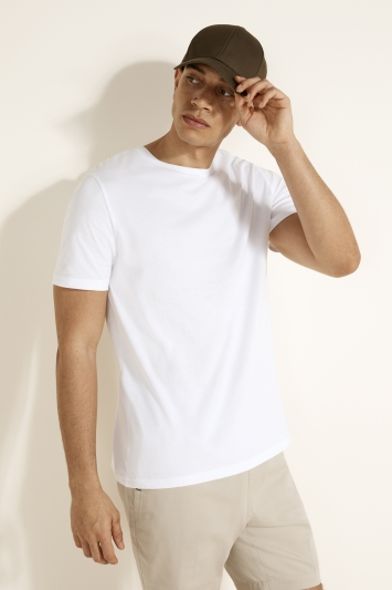 White Crew-Neck T-Shirt
