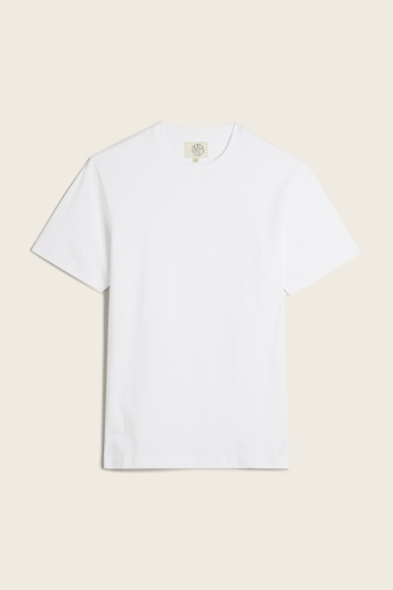 White Crew-Neck T-Shirt
