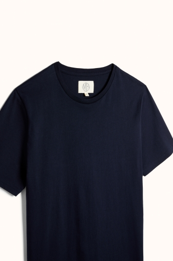 Navy Crew-Neck T-Shirt
