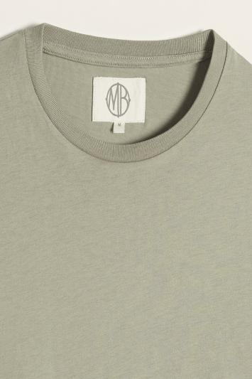 Sage Green Crew-Neck T-Shirt