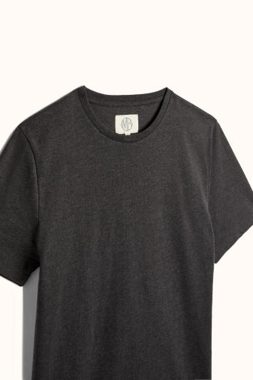 Grey Marl Crew-Neck T-Shirt