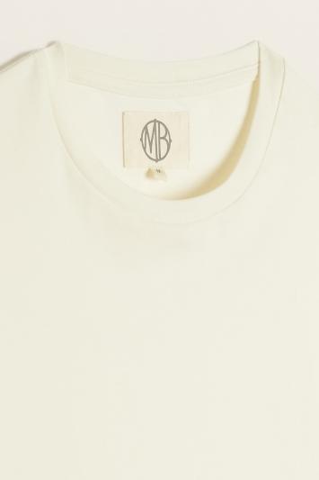 Ecru Crew-Neck T-Shirt