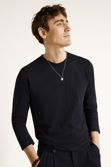 Ink Slub Long-Sleeve T-Shirt