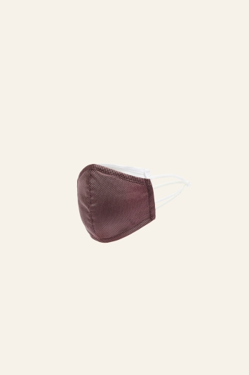Mulberry Plain Natte Silk Mask