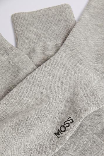 Grey 3-Pack Bamboo Socks
