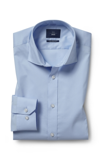 Tailored Fit Sky Stretch Shirt