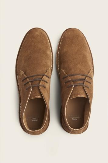 Lambeth Tobacco Suede Desert Boot