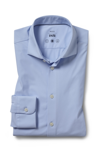 Tailored Fit Sky Performance Stretch Shirt