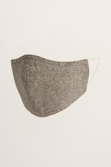 Stone Herringbone Mask