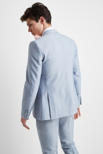French Connection Powder Blue Marl Regular Fit Jacket