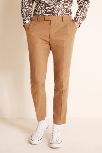 Moss London Slim Fit Chestnut Trousers
