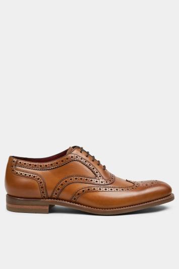 Loake Kerridge Tan Leather Wingtip