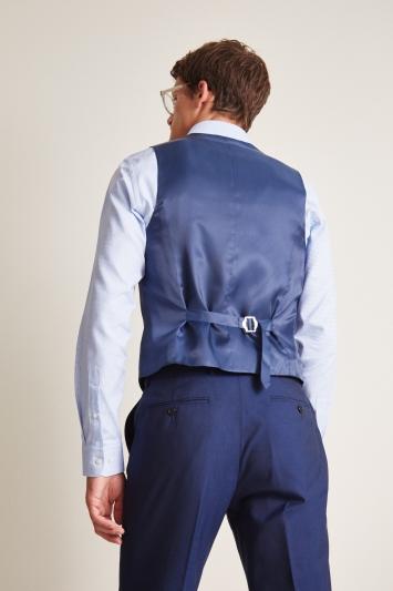 Ted Baker Slim Fit Blue Waistcoat