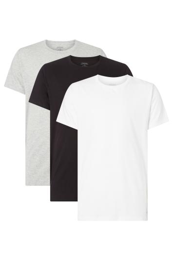Calvin Klein Black, White & Grey 3-Pack T-Shirt