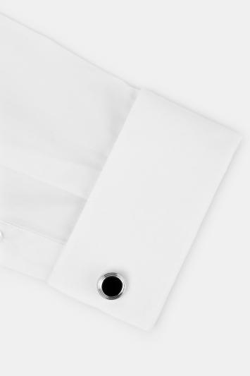 Silver with Black Onyx Cufflinks