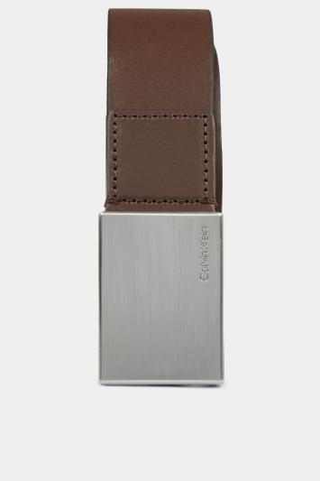 Calvin Klein Dark Coffee 3.5cm Formal Belt