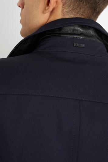 HUGO by Hugo Boss Navy Twill Casual Jacket
