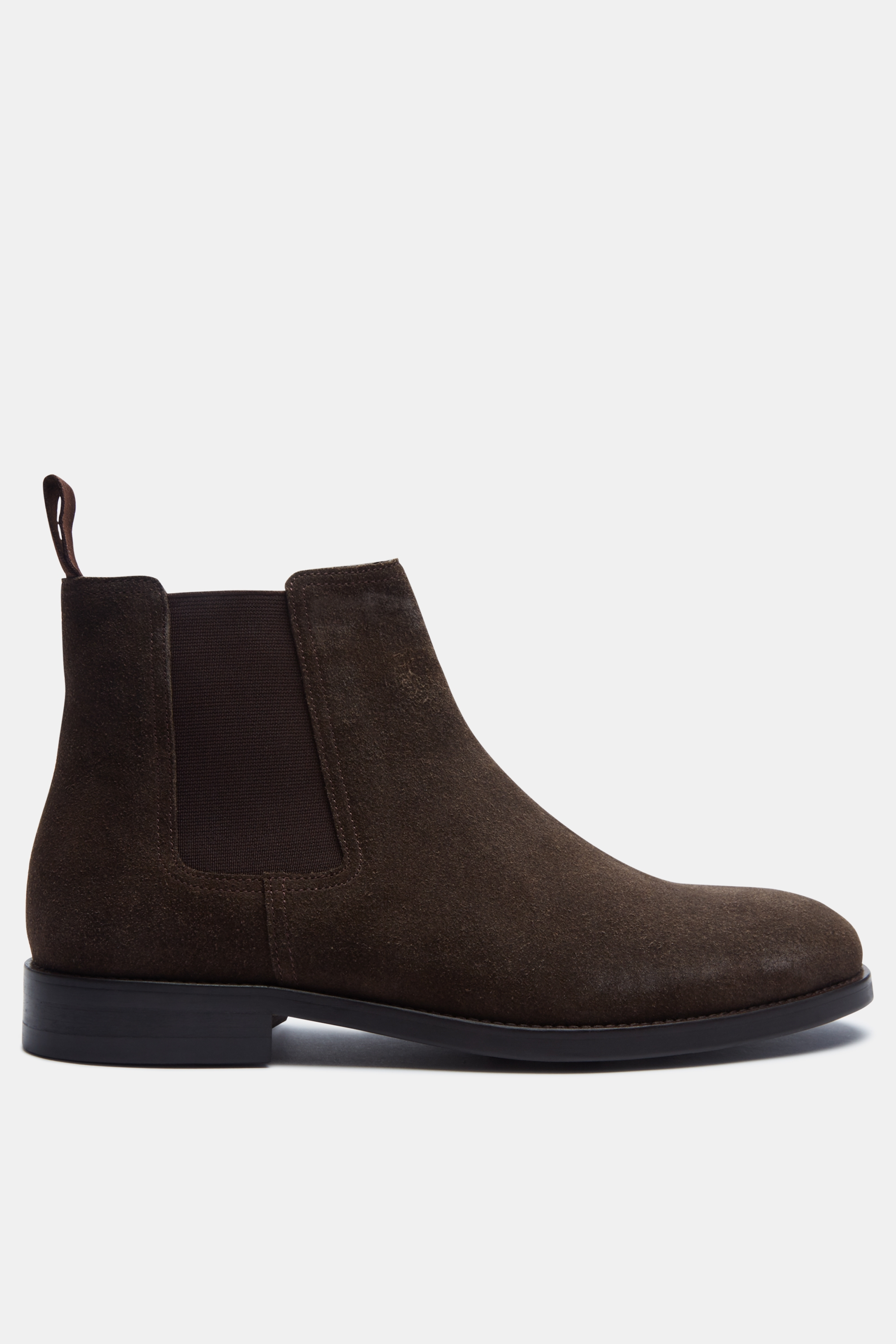 John White Piccadilly Brown Suede