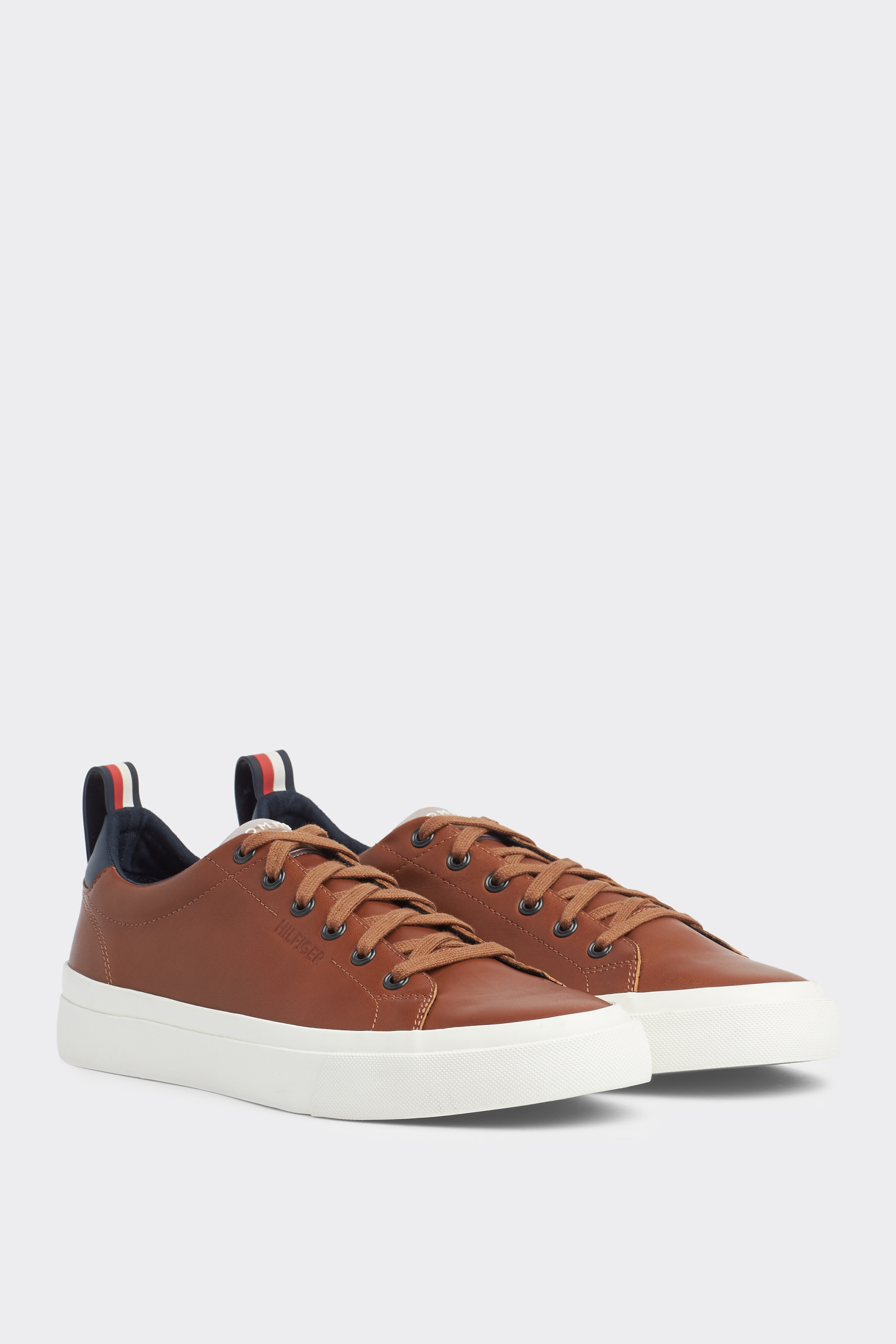 Tommy Hilfiger Brown Vulcanised White